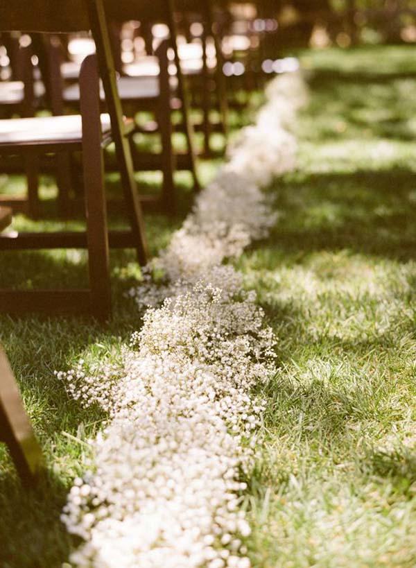 Baby's Breath Wedding Styling Ideas