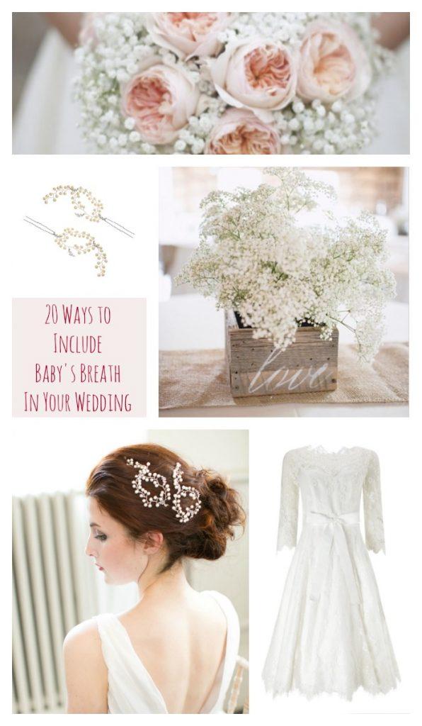 Baby's Breath Wedding Inspiration Mood Board