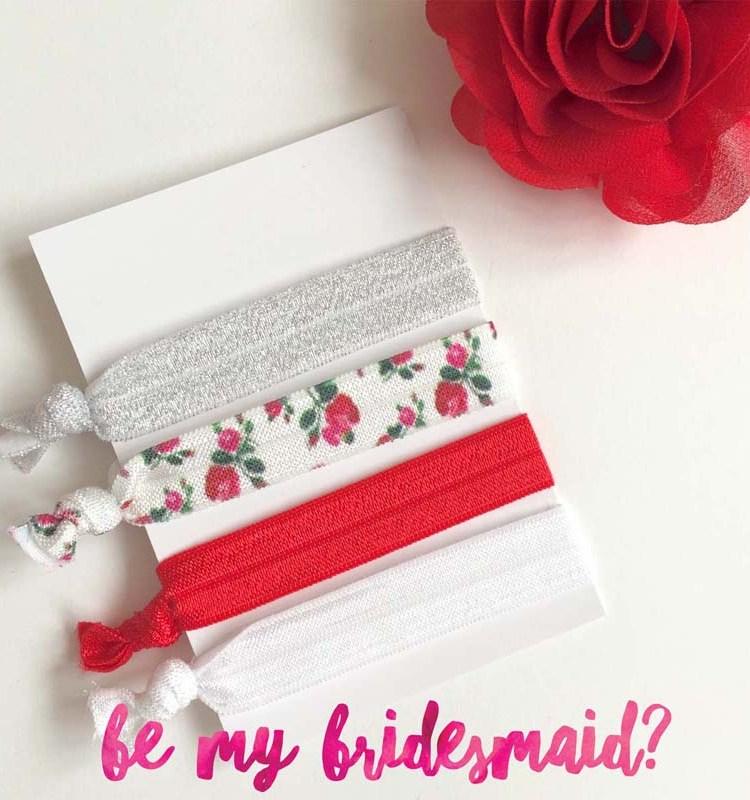 Country-Rose-elastic-hair-ties-bridesmaid-gift