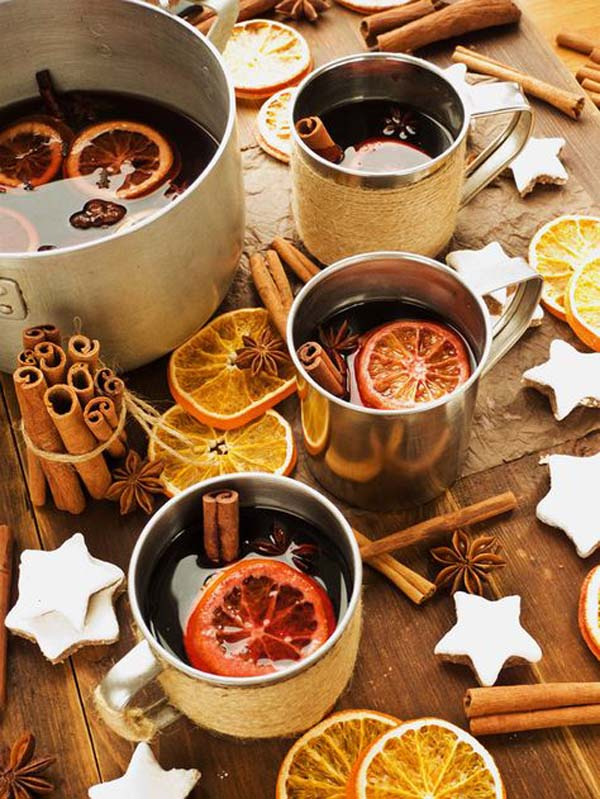 Autumn mulled wine