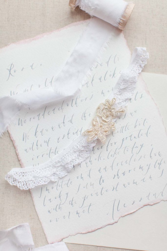 french lace bridal garter belt