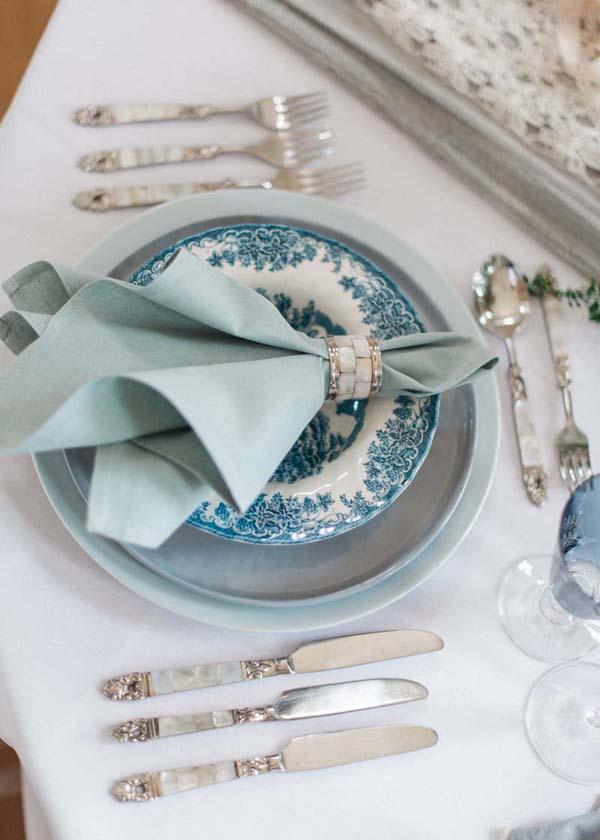 Georgian Serenity Blue Wedding Inspiration