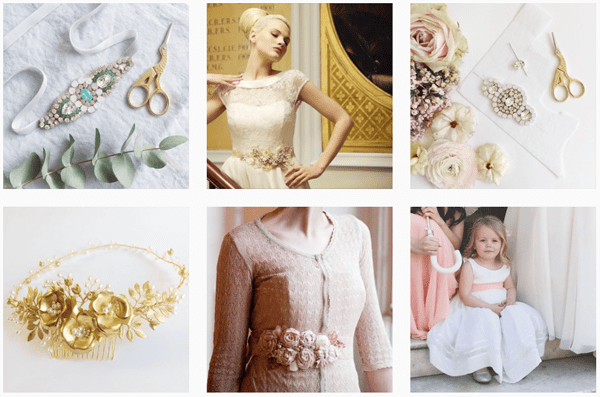 london bridal accessories instagram