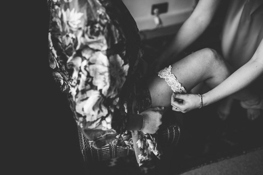 lace bridal garter