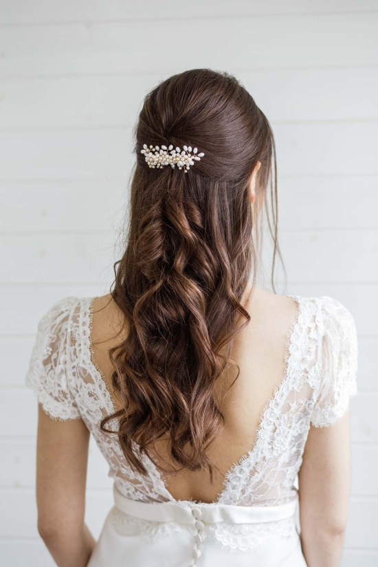 London Wedding Hair Accessories