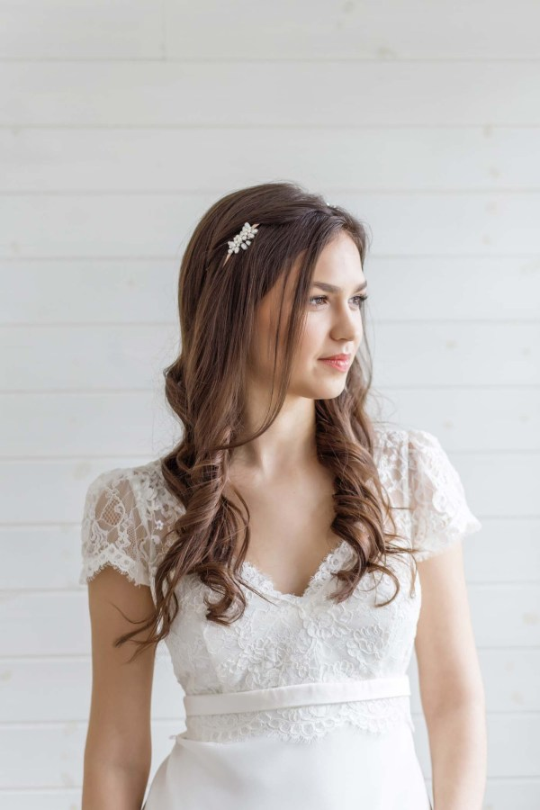 Pearl Bridal Headpiece Wedding Shop London