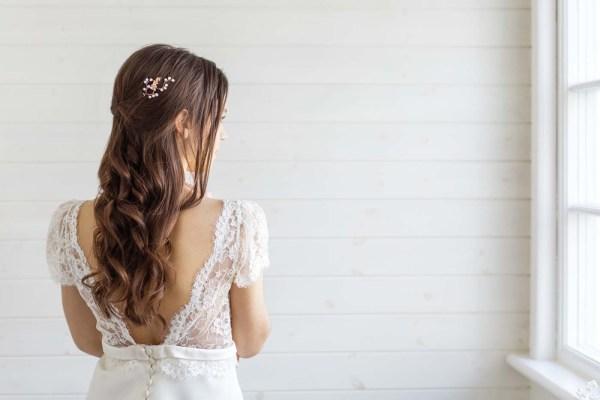 orchid bridal hair pinorchid bridal hair pin