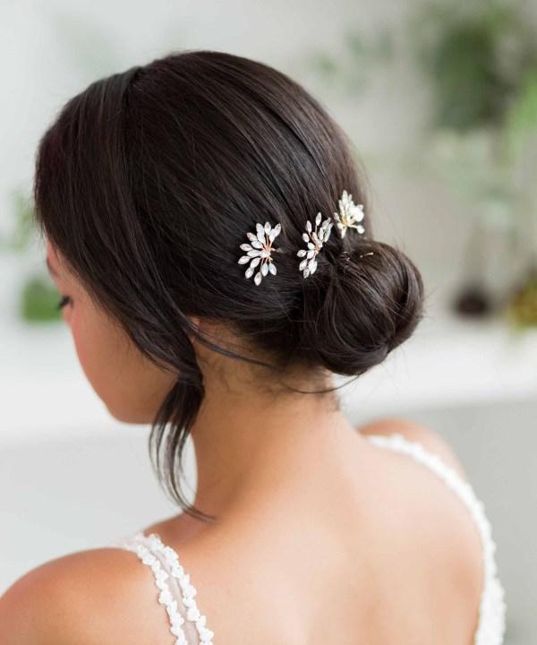 Star Burst Bridal Hair Pin