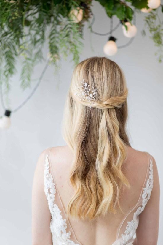 Dawne Bridal Hair Pin