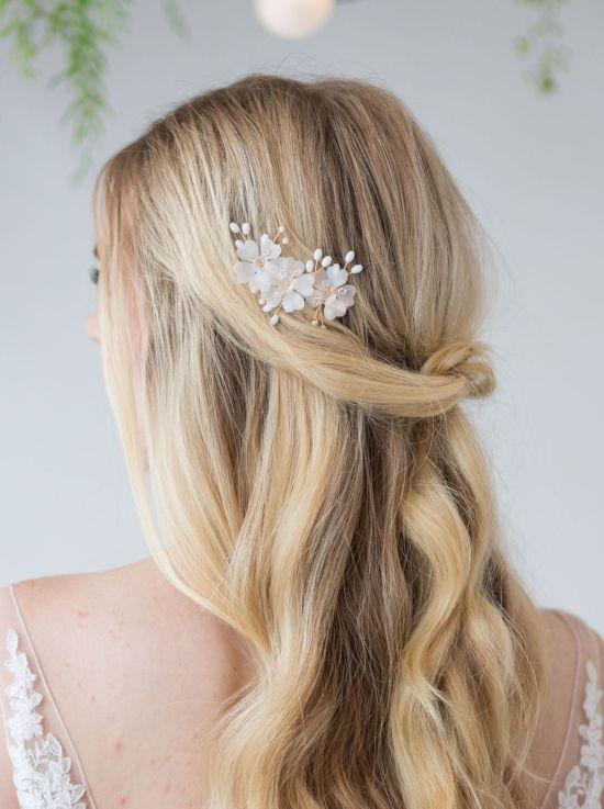 Josie Silk Flower Hair Clip