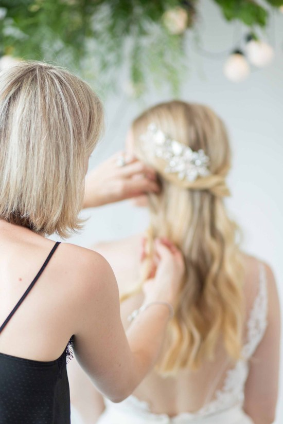 Serenyn Silver Wedding Hair Comb