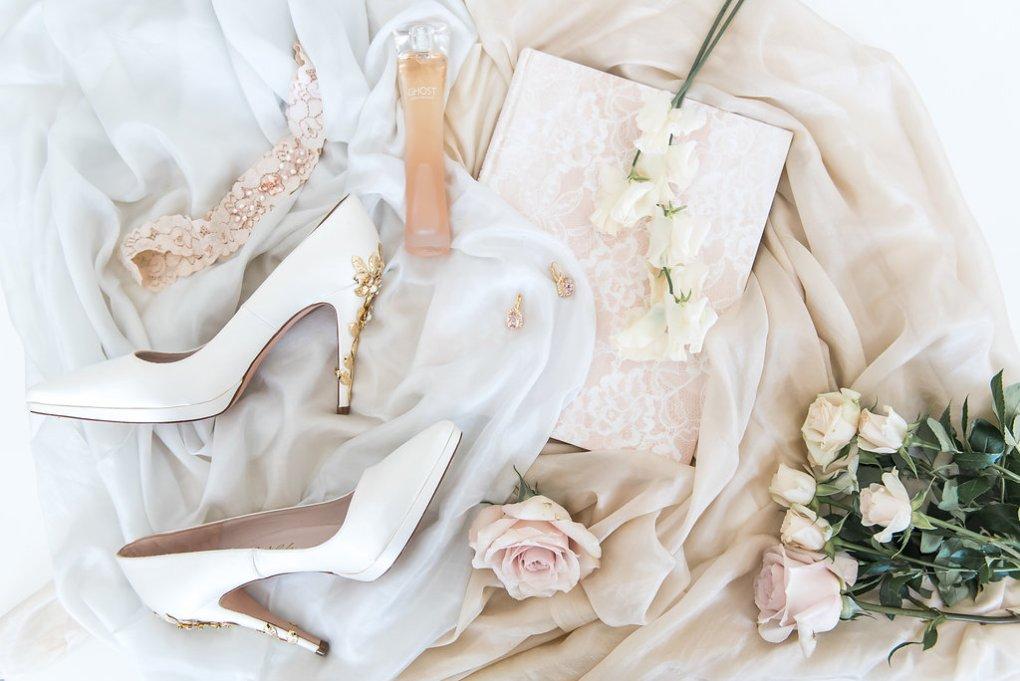 blush pink and gold wedding inspiration