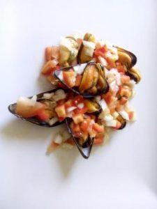 Salpicón mejillones