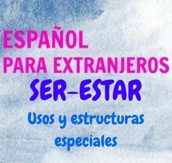 Ser-estar. Usos y estructuras especiales. Una de las partes de la gramática más difícil; pero comprender la diferencia entre estos dos verbos es vital para hablar español correctamente.