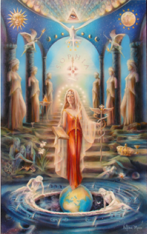 Image result for image of the seven pillars of sophia