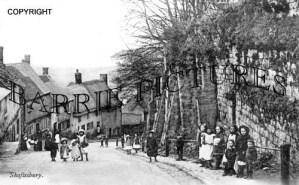 Shaftesbury, Gold Hill c1905