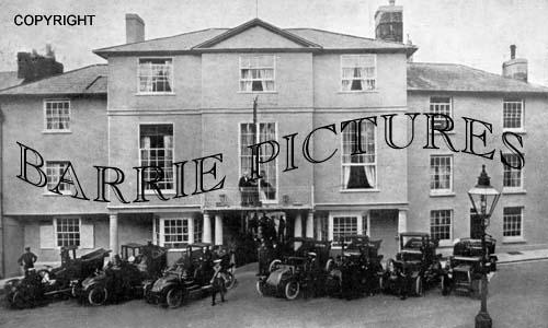 Shaftesbury, The Grovenor Hotel c1915