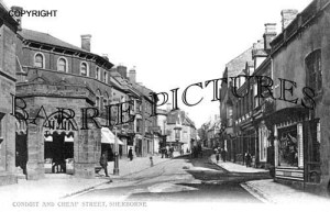 Sherborne, Conduit and Cheap Street c1900