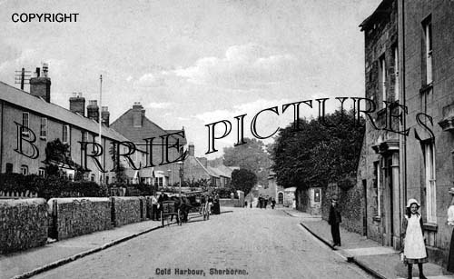 Sherborne, Cold Harbour c1910