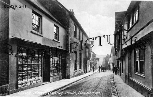 Sherborne, Cheap Street c1900
