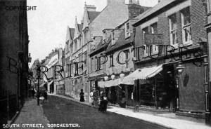 Dorchester, South Street c1918