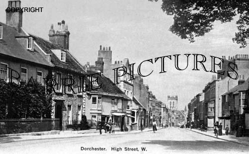 Dorchester, High Street,1900