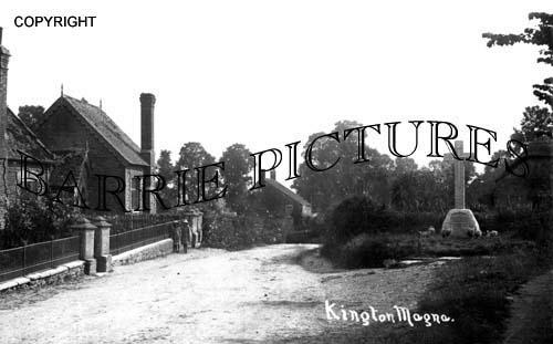 Kington Magna, Village c1910
