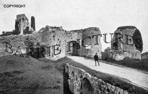Corfe Castle, The Gateway c1900