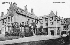 Sherborne, School c1920
