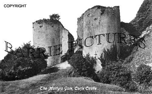 Corfe Castle, The Martyrs Gate c1900