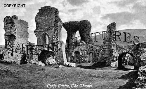 Corfe Castle, The Chapel c1900