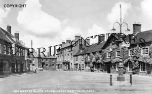Sturminster Newton, The Market Place c1955