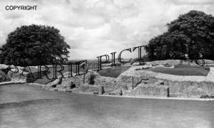 Old Sarum, Ruins c1960