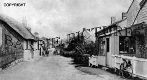 Okeford Fitzpaine, Village c1901