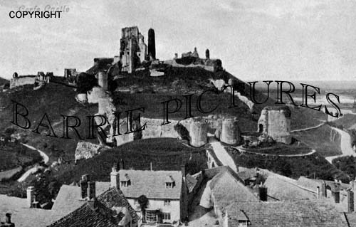 Corfe Castle, c1910