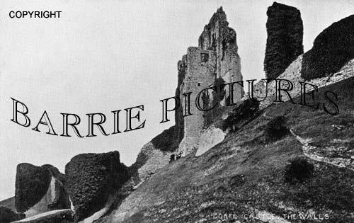 Corfe Castle, c1915