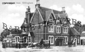 Gillingham, South Weston Hotel c1900