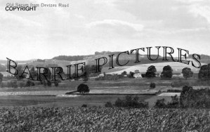 Old Sarum, from Devizes Road c1920