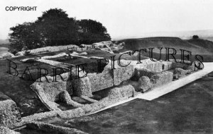 Old Sarum, Remains of Great Tower and Chapel