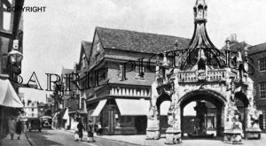 Salisbury, Poultry Cross and Minster Street