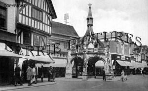 Salisbury, The Poultry Cross c1945