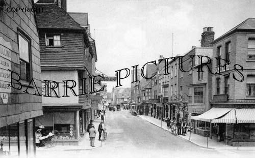 Salisbury, High Street c1900
