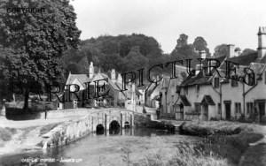 Castle Combe, Village c1945