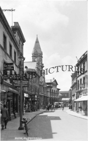 Trowbridge, Silver Street c1945