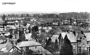 Gillingham, from Church Tower c1930