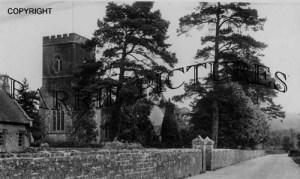 Motcombe, The Church c1925