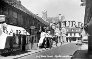 Sherborne, Half Moon Street c1960