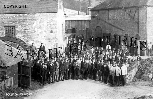 Bourton, Foundry c1920