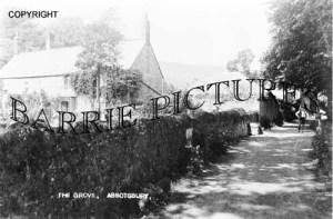 Abbotsbury, The Grove c1890
