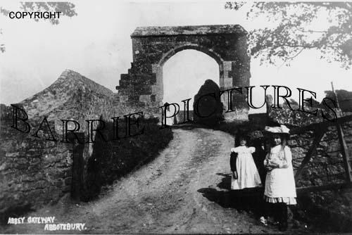 Abbotsbury, Abbey Gateway c1890